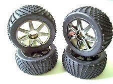 HPI Trophy Flux Truggy 4 Reifen 101157 mit Felgen und Einlagen -fahrfertig - Neu