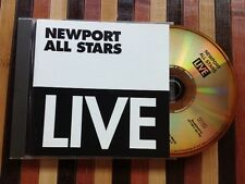 NEWPORT ALL STARS / LIVE (1967-1969) - CD (printed in Italy) NEAR MINT