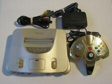✅ USA Gold Toys R Us N64 Nintendo 64 Video Game Console Super Rare Bundle Lot #1