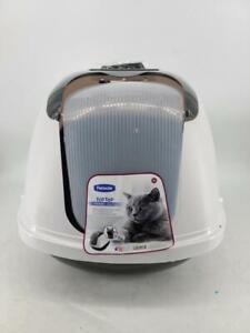 Petmate Jumbo Cat Flip Top Hooded Litter Pan, 42175