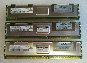 Qimonda HYS72T64400HFA-3S-B 398705-051 1.5GB 3x512MB PC2-5300 DDR2 CL5 240P RAM