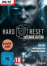 Hard Reset Extended Edition | PC | | DVD NUOVO & OVP tedesco | | usk16