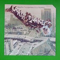 EARTHQUAKE Soundtrack John Williams MCA2081 LP Vinyl VG++ Cover VG+