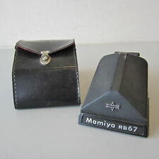 Vintage Mamiya RB67 Prism Finder w/Case Japan