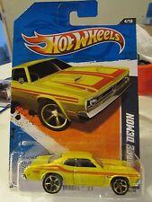 Hot Wheels '71 Dodge Demon Street Beasts Yellow