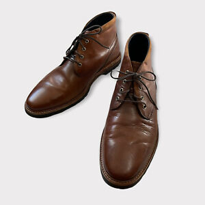 COLE HAAN Men's Brown Size 10 M US Leather Ankle Chukka Boots