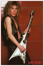 Randy Rhoads - LARGE POSTER - Ozzy Osborne Jackson guitar Heavy Metal Master