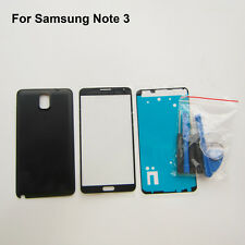 Replacement parts battery door cover front outer glass for samsung galaxy note 3