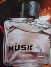 AVON MUSK VULCAIN EAU de TOILETTE SPRAY pour HOMME 75 ml