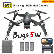 2020 MJX Bugs 5W B5W 5G Wifi 4K Camera GPS RC Drone Brushless FPV Quadcopter RTF