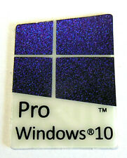 Windows 10 Pro Blue Sticker 16mm x 22mm Color Changing Reflective!!
