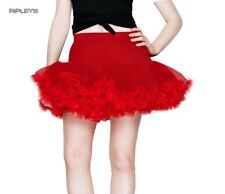 HELL BUNNY ALL OVER RED TUTU Skirt Burlesque All Sizes