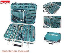 Makita Werkzeug-Set, 227-tlg. P-90532 Bitsortiment Stecknüsse Ratsche