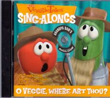 VEGGIE TALES O Veggie Where Art Thou CD Great Christian GRANDPA BOB DO LORD Rare