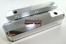 Polish Fabricated Aluminum Valve Cover Small Block Ford 260-289-302-351W Mustang