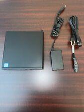 HP EliteDesk 800 mini G3: i5-7500T 3.30Ghz, 8GB RAM, 256GB NVMe, Win 10 Pro...