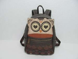 Loungefly Owl Heart Eyes Mini Faux Leather Backpack