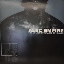 "ALEC EMPIRE - THE GOLDEN AVANT-GOÛT OF HEAVEN 12"" 2 LP (M458)"