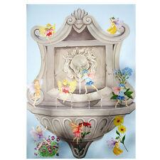 Tatouage Fairies Fountain Decorated Canvas