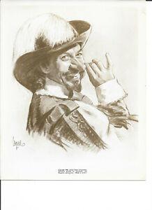 Cyrano de Bergerac Jose Ferrer Original 1950 Move Promo Ad Artwork Art Print