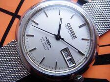 Citizen Cutlass Overhaul 33 Jewels Automatic Authentic Mens Watch Works