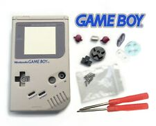 Full Kit coque couleur Gris / Grey GB FAT Game Boy Classic Original Case Shell