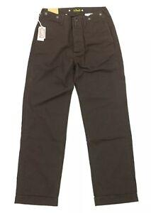 NEW Levi's Vintage Clothing LVC Straight Leg Brown Trouser Pants Mens Size 24x29