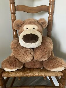 Fao Schwarz Fifth Avenue Oaf Bear Large Jumbo Plush Rope Collar Stuffed Animal