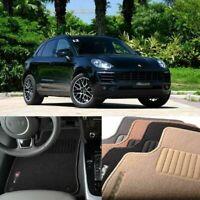 Premium Auto Fabric Nylon Anti-slip Floor Mats Carpet Fit For Porsche Macan