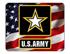 "9""x7"" MOUSE PAD - Army 4 Armed Forces Military Soldier Computer Mousepad Office"