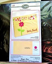 A2 Vertical Card & Daisy Flower Sizzix Bigz Movers & Shapers Pro Die 656433 NEW!