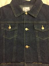 Authentic Versace Young Denim Jacket for girl size 6. New!