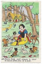 Carte Postale - WALT DISNEY - Edition Superluxe Paris  Blanche Neige  N°18