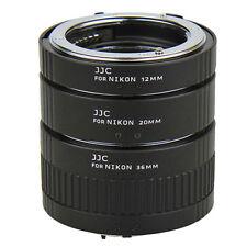 Macro Extension Lens Ring Mount Tube Kit Set for Nikon F-Mount Camera Photo