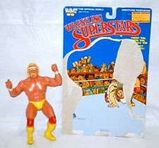 Vintage 1984 LJN Wrestling Superstars Hulk Hogan Figure w/ Card back WWF