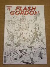 FLASH GORDON #1 NM (9.4) DYNAMITE RI SKETCH VARIANT COVER 2014