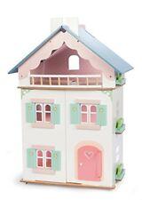 Maisons de poupées miniatures en fait main en bois