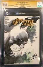 IVAN REIS ORIGINAL Sketch Art SS CGC 9.8 Signed Batman Harley Quinn Joker Comic
