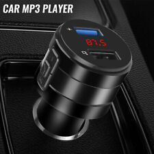 Auto 2 USB Bluetooth FM Transmitter KFZ MP3 Player Ladegerät Adapter Radio neu