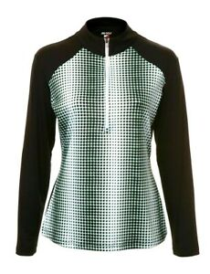 WOMENS GOLF BEAUTIFUL DOTTY MID/BASE LAYER- VISIT SHOP FOR MATCHING SKORT & TOPS