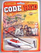 """-Matchbox Superfast USA-""""Code Red"""" Serie Hubschrauber"""