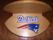 Patriots   wall shelf to footballs / helmet or other items see pics