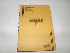 Sheep Selecting Fitting Showing by Nordby & Lattig Book Farming