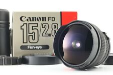 RARE!! 【BRAND NEW】 Canon New FD 15mm F2.8 Fish eye SLR Film MF Lens from JAPAN