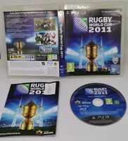 Rugby World Cup 2011 for the Sony PS3 playstation 3 with manual & free uk post