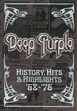 History Hits & Highlights 1968-1976 0801213027491 With Deep Purple DVD Region 1