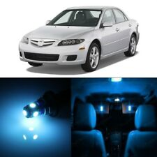 10 x Ice Blue LED Interior Lights Package For 2003 - 2008 Mazda 6 + PRY TOOL