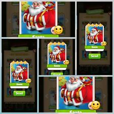 Santa X20 pack - Coin Master - Immediate Delivery
