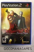 DEVIL MAY CRY 3 SPECIAL EDITION PS2 PAL ITA