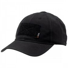 New 5.11 Tactical Flag Bearer Cap Hat with Hook and Loop Patch Black 89406